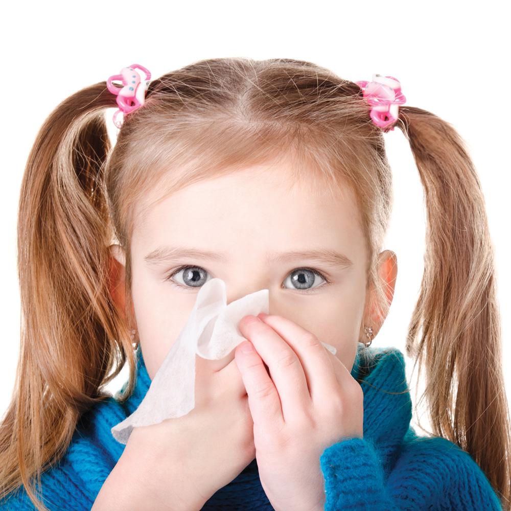 Les rhumes à répétition chez les enfants