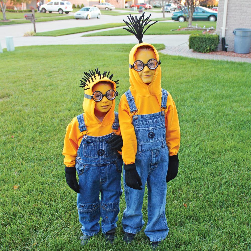 Idées de déguisements trop mignons à faire soi-même!