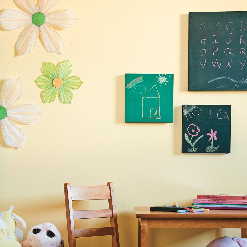 Quoi faire avec les enfants: tableaux d'artistes… en herbe!