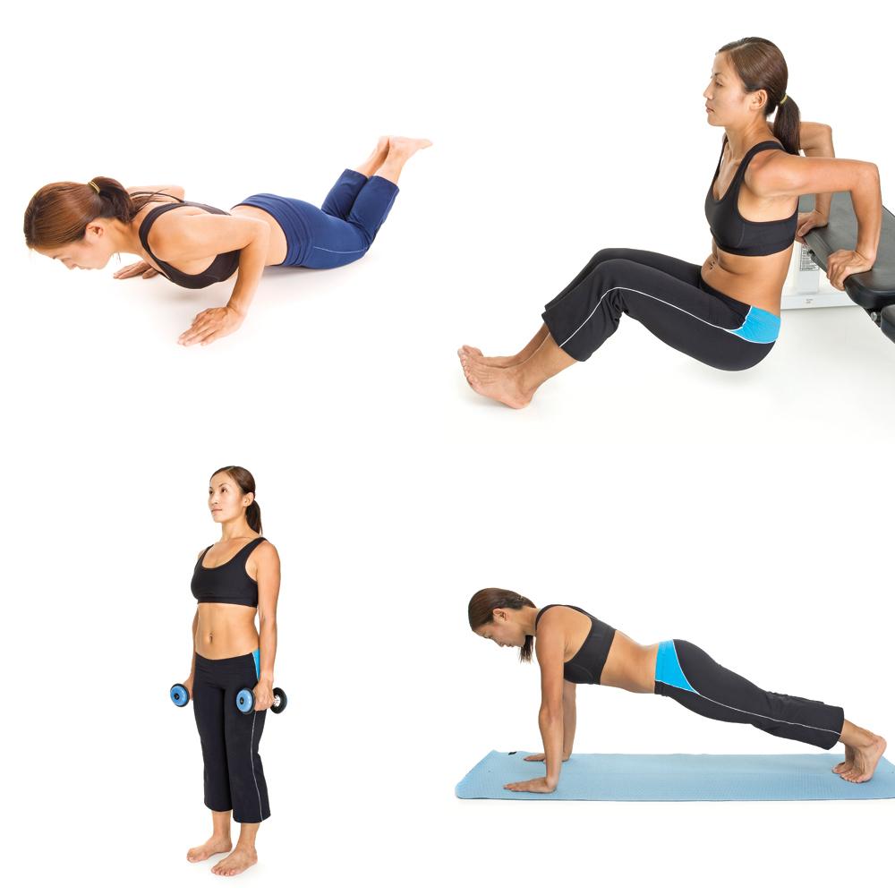 6 exercices pour tonifier ses bras