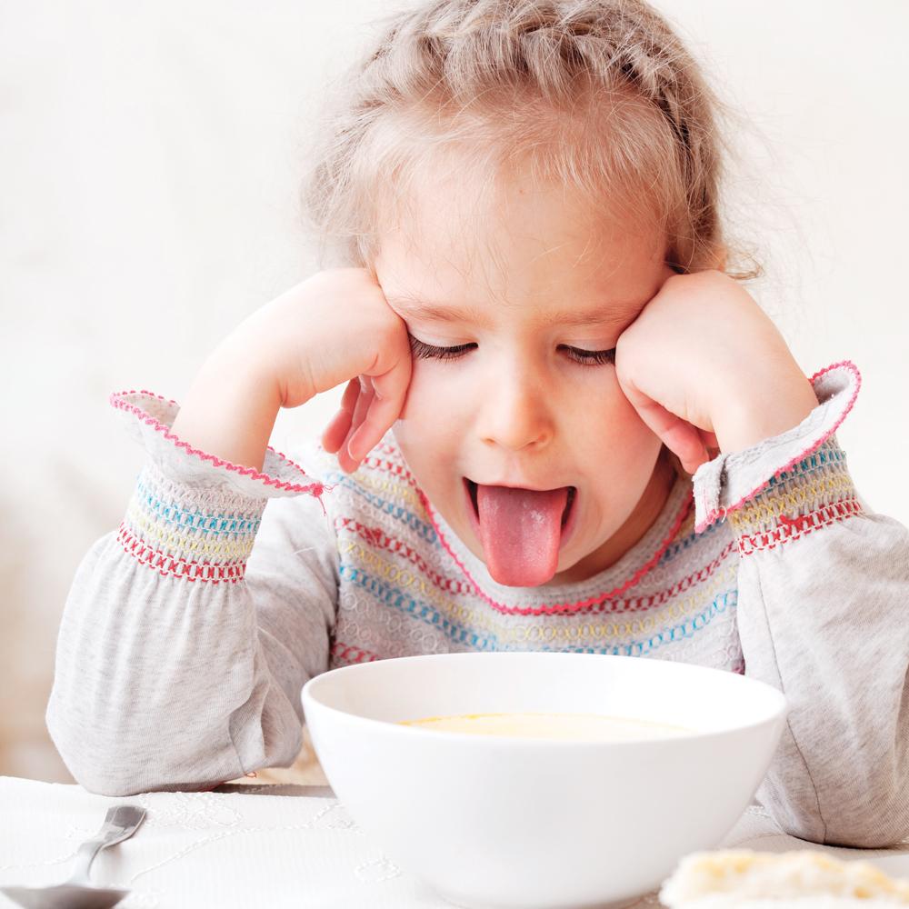 Mon enfant refuse de manger!