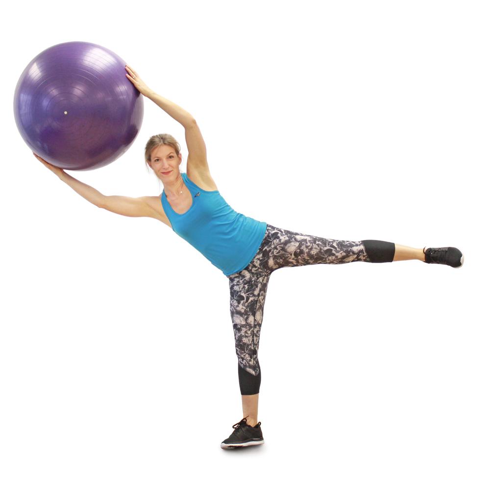 10 exercices à faire avec un ballon