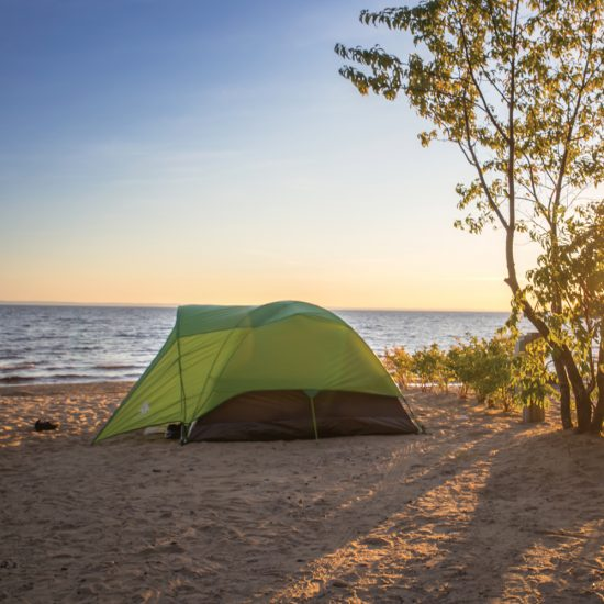 Camping et plage Belley