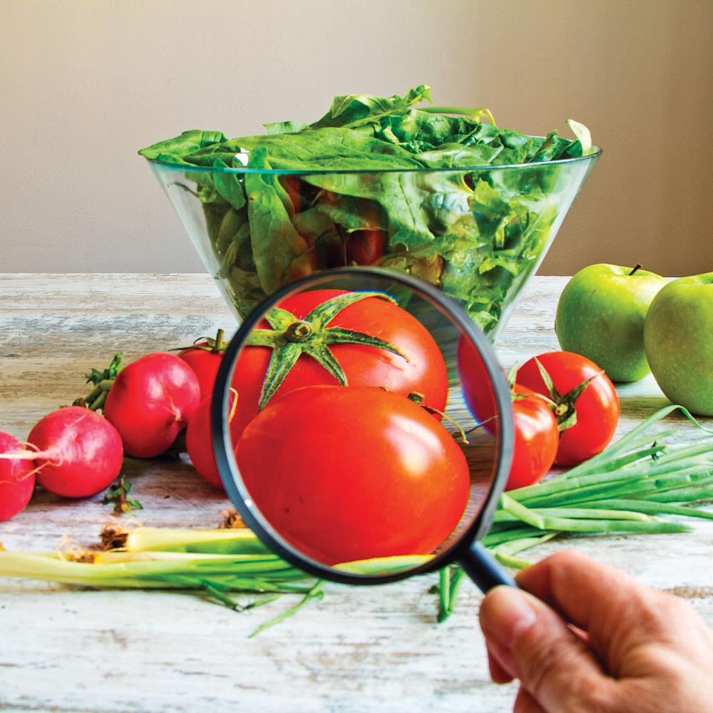 Qu'est-ce qu'il y a de mauvais dans les aliments non bio?