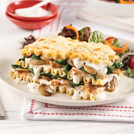 Chicken and Mushroom Lasagna