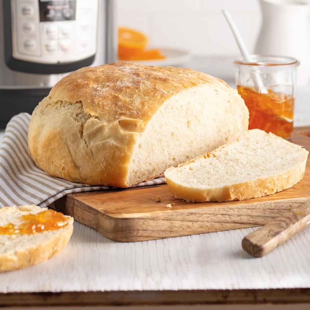 Miche de pain à l'autocuiseur