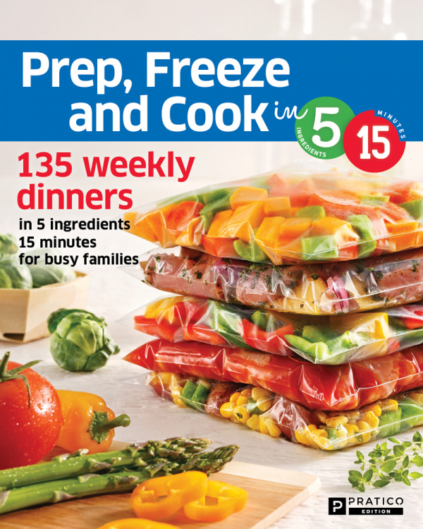 Prep Freeze and Cook in 5 ingredients 15 minutes