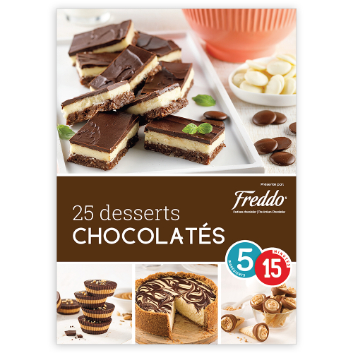 Magazine numérique: 25 desserts chocolatés