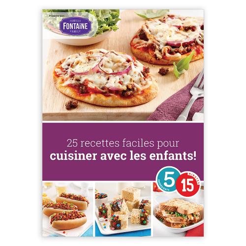 Magazine numérique: 25 recettes faciles pour cuisiner avec les enfants