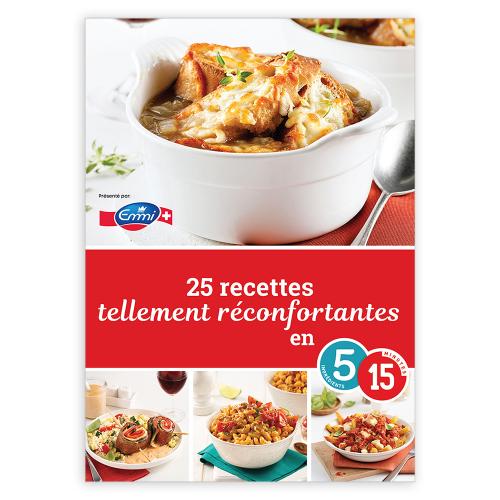 Magazine numérique: 25 recettes tellement réconfortantes en 5-15
