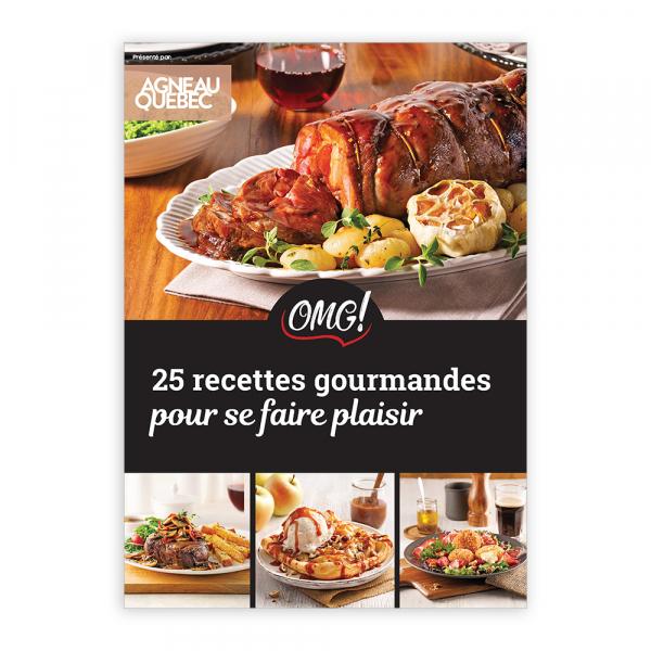 Magazine numérique: 25 recettes gourmandes pour se faire plaisir
