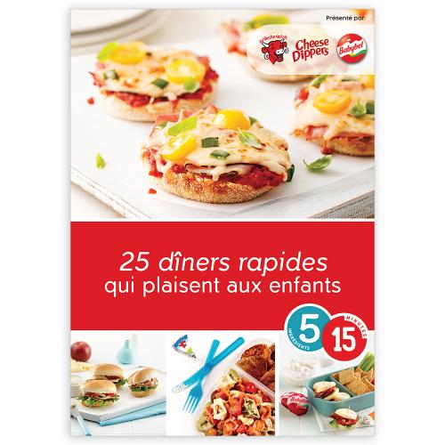 Magazine numérique: 25 dîners rapides qui plaisent aux enfants