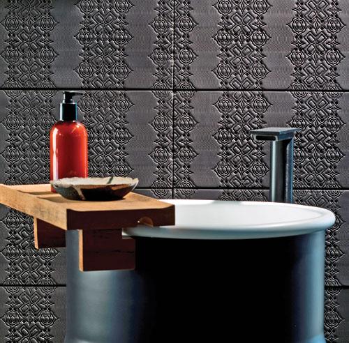 tendances céramique texturé relief